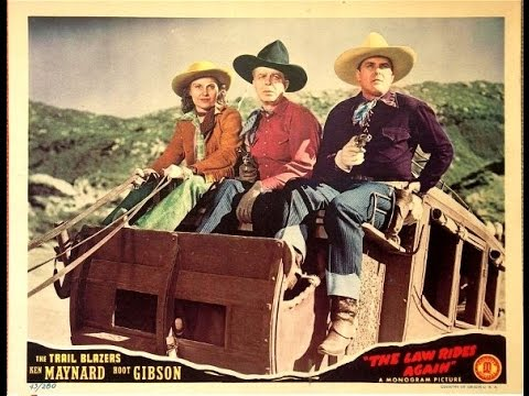 The Law Rides Again [1943] Alan James