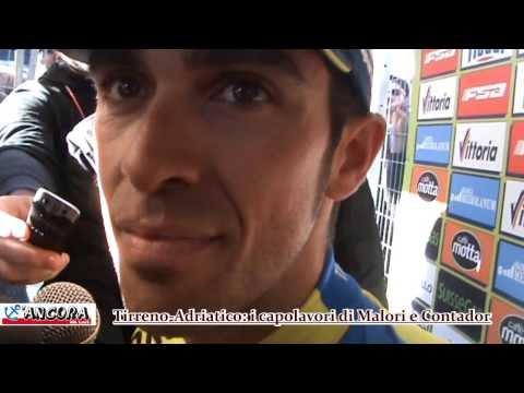 Tirreno Adriatico 2014: i capolavori di Contador e Malori
