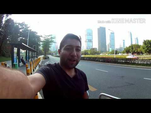 Autobuses en Shenzhen China