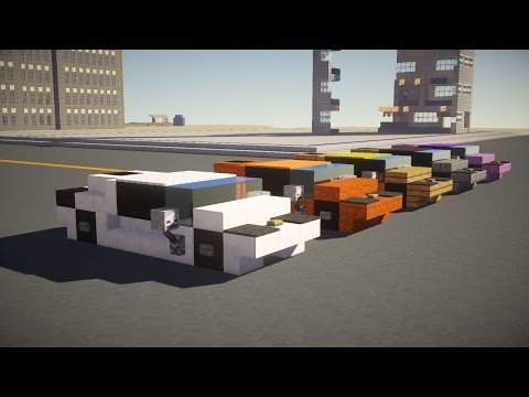 Minecraft Lamborghini Sports Car Tutorial