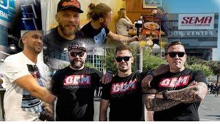 BBM goes SEMA Tag 1 mit alten Bekannten - Sema Vlog 2018 mit Jp Performance und Sidney Industries