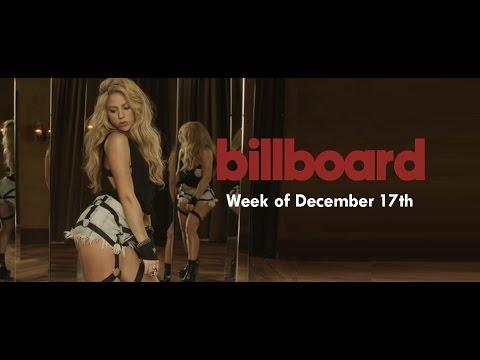 Shakira: Billboard Chart Recap | Week of December 17