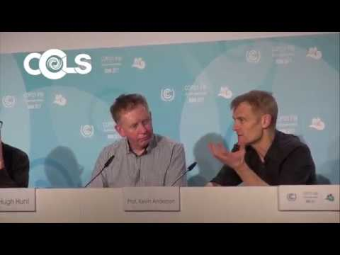 Professor Kevin Anderson & Dr Hugh Hunt discuss responses to climate change at #COP23