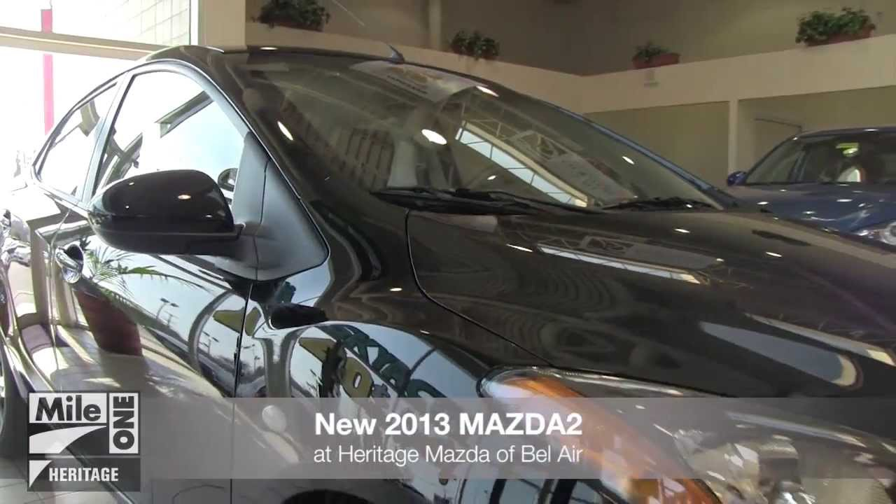 Mazda Dealership Md >> New 2013 Mazda2 Video Tour Md Mazda Dealer Bel Air