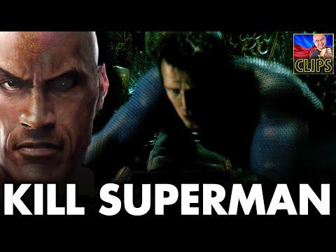 BLACK ADAM Wants To Kill SUPERMAN