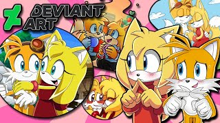 Tails and Zooey VS DeviantArt   Tails' Crush SONIC BOOM