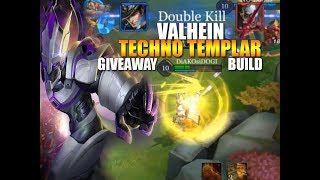 Valhein Techno Templar - Giveaway - Build - Arena of Valor - Arcana