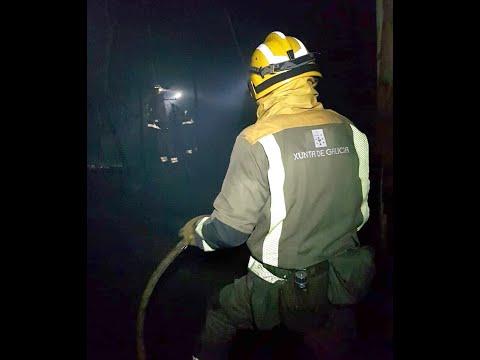 El incendio de Bugarin puso en peligro varias casas