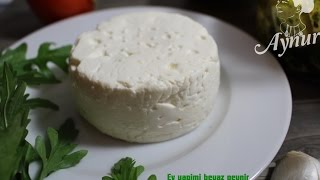 Ev yapimi Beyazpeynir Tarifi- #Kahvaltilik tarifler#Schafskäse selber machen
