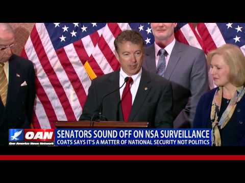 Senator Coats NSA Interview Part 1