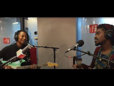 Fatoumata Diawara et Patrick Kabré en live dans VMDN