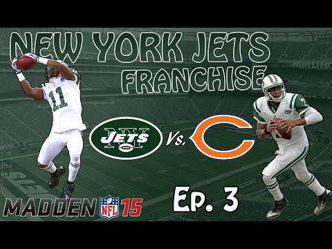 New York Jets Franchise Ep. 3 Monday Night Football Vs. Bears (Madden 15 Xbox One)