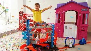 Подарок Роме на День рождения - Трек Hot Wheels