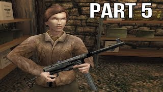 Medal of Honor Allied Assault Gameplay Walkthrough Part 5 - Diverting the Enemy