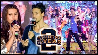 Tiger Shroff Dance With Ananya Tara, REACTS On SOTY 2 Trolls | The Jawaani Song Launch | FULL EVENT