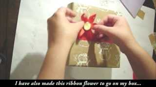 Handmade Paper and How to Wrap a Box