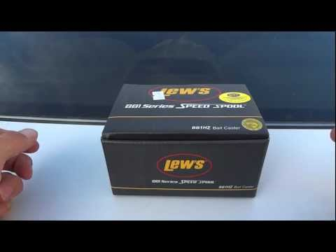 The Lew's BB1 Speed Spool Baitcast Reel Unboxing - Model BB1HZ