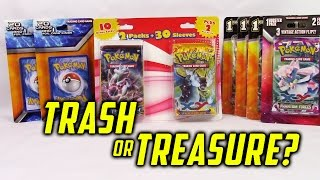 My LARGEST Trash or Treasure?! Tons of Repackaged Pokemon Card Products!