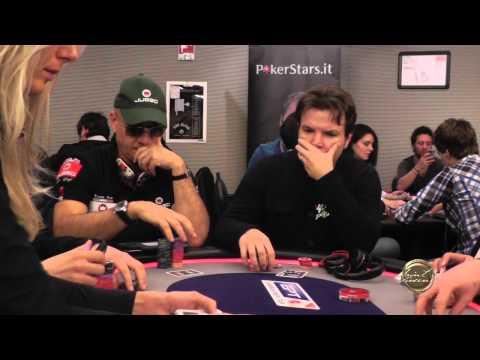 Nicolò Caramatti, Team pro Sisal Poker, in azione all