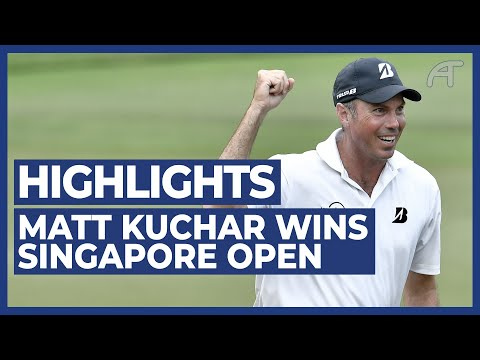 Matt Kuchar Wins The SMBC Singapore Open | Final Round Highlights 2020