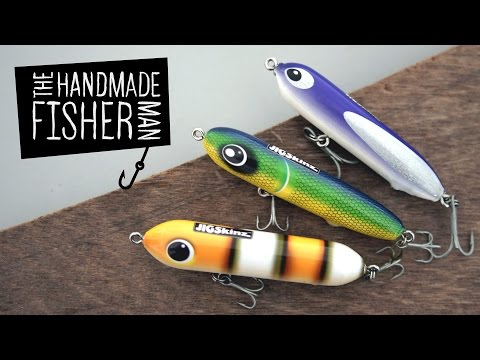 Making Hard Plastic Fishing Lures On The Lathe  Part 1 Resin And Jigskinz