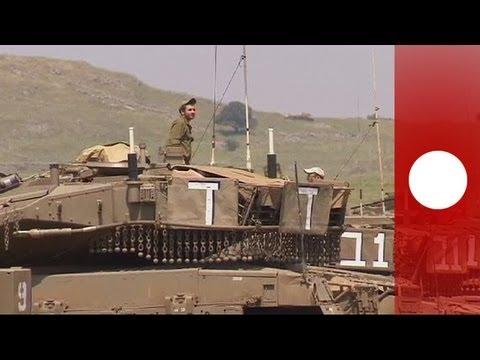 Tensions high at Israel-Syria border