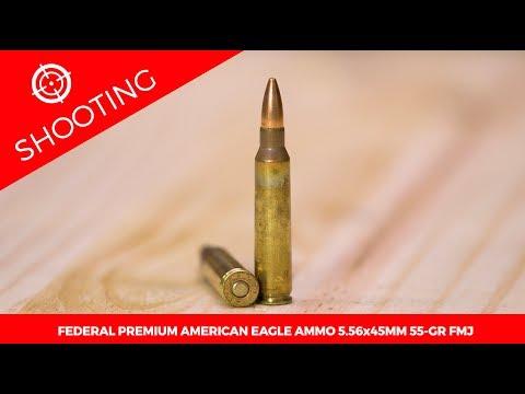 Federal Premium American Eagle Ammo 5.56x45mm 55-gr. FMJ