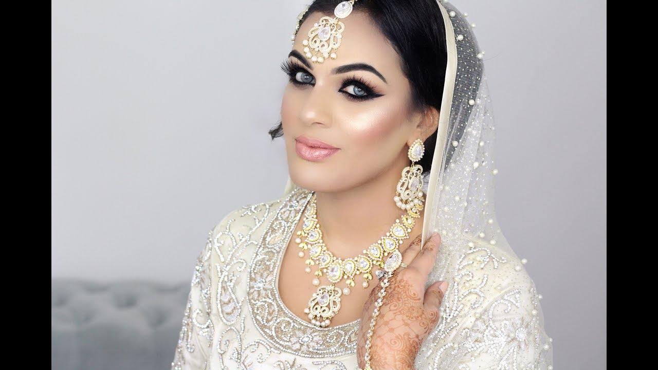 Pakistani Nikkah Bridal Makeup - YouTube