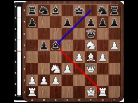 (11) Adolf Anderssen vs Lionel Kieseritzky (Londres, 1851) / Gambito de Rey