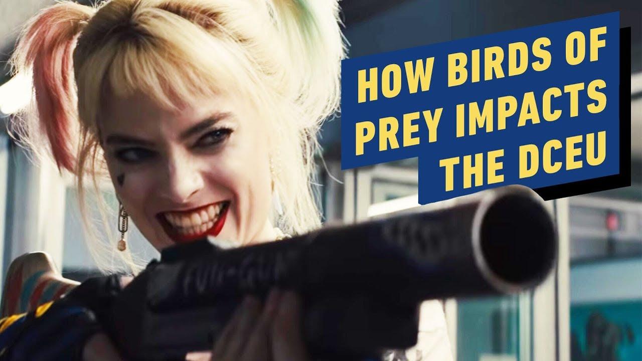 Como as aves de rapina afetam o universo dos filmes da DC + vídeo