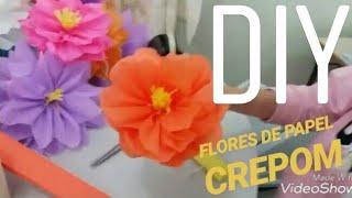 DIY | FLORES DE PAPEL CREPOM