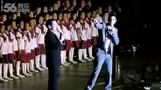 《龍的傳人》李建復 與 王力宏 2012年於北京鳥巢演唱會