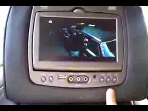 hqdefault how to use your dvd system on a cadillac escalade youtube invision dvd headrest wiring diagram at soozxer.org