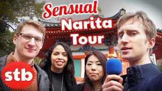 SENSUAL Travel Tour in Narita, Japan // Things to do in Narita Airport Layover