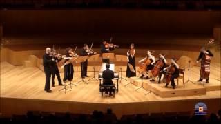 J.S Bach Brandenburg Concerto No.3 in G major BWV 1048. Cuarteto Quiroga y Camerata CSMA