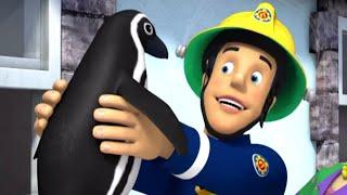 Nowy Strażak Sam ❄️Problemy z pingwinami ❄️Specjalne zimowe ❄️Kreskówki dla dzieci