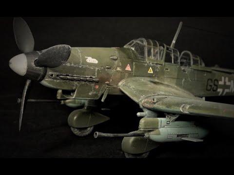 FULL BUILD - Academy JU-87G-1 Stuka