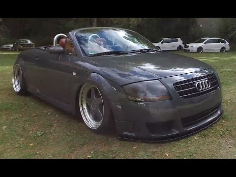 audi tt cabrio grey slammed nice bodykit nifty hype 2016 youtube. Black Bedroom Furniture Sets. Home Design Ideas