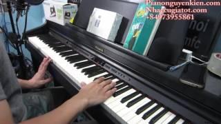 """Hướng Dẫn Piano """" Mong Ước Kỷ Niệm Xưa """" - Nguyễn Kiên"""