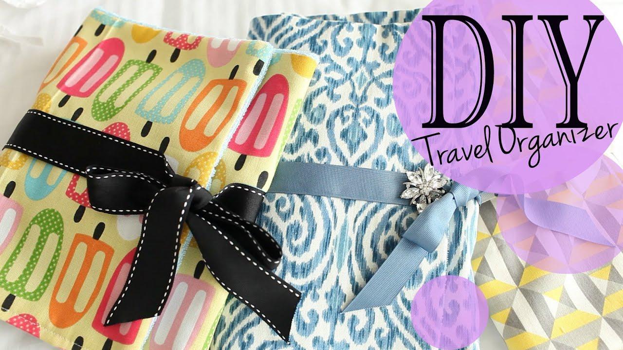 Diy Travel Accessory Makeup Brush Organizer Tutorial Anneorshine Youtube