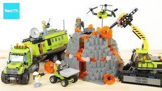 レゴ シティ 火山調査基地 60124 / LEGO City Volcano Exploration Base 60124