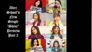 AFTERSCHOOL - 'Shine' Second Preview