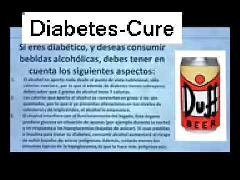 Diabetes Alcohol, Bebidas alcoholicas para diabeticos ¿Los
