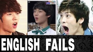 TOP 10 FUNNY ENGLISH FAILS IN KPOP   TOP 10 ENGRISH IN KPOP
