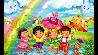 Злий хмаринку покарали - Кап-кап-кап дощик пішов - Дитяча пісня для самих маленьких
