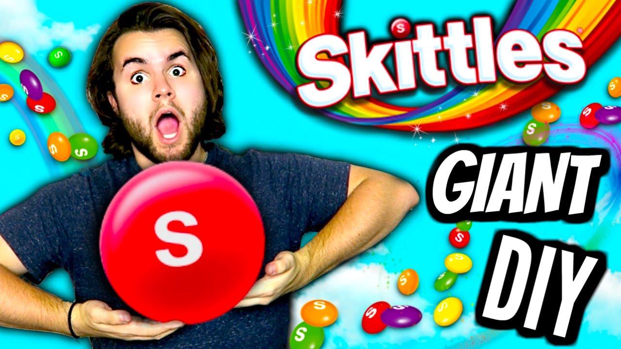 diy giant skittles how to make huge edible skittle biggest
