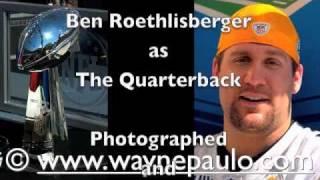 Steelers Big Ben Roethlisberger Super Bowl Photos by Wayne Paulo