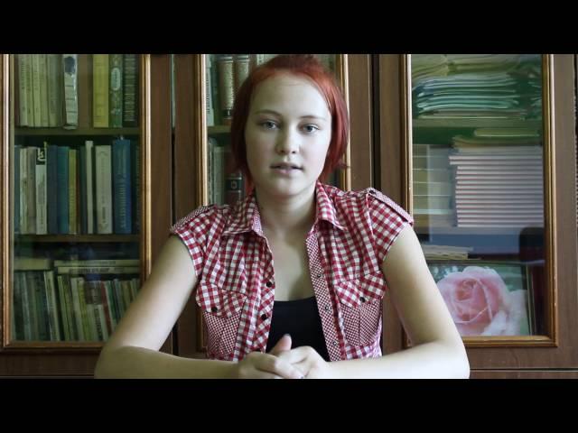 Изображение предпросмотра прочтения – ПолинаСузикова читает произведение «Я покинул родимый дом…» С.А.Есенина