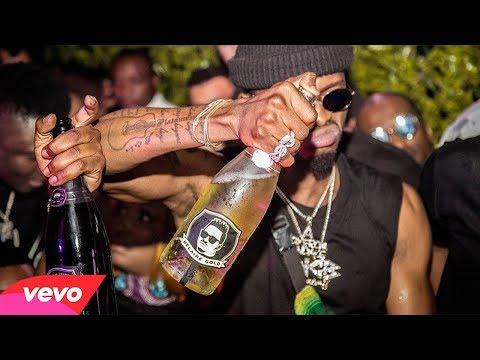 Vybz Kartel Ft Harmonize Ft Diamond Platnumz & Dj B Wasafi  -Kwa Ngwaru  Remix [ Official Video]