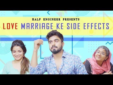 LOVE MARRIAGE KE SIDE EFFECTS - VMate || HALF ENGINEER